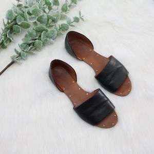 Madewell Womens Size 7 Thea Leather D Orsay Sandal